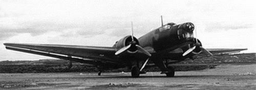 Le Portugal durant la Seconde Guerre Mondiale Ju86-01