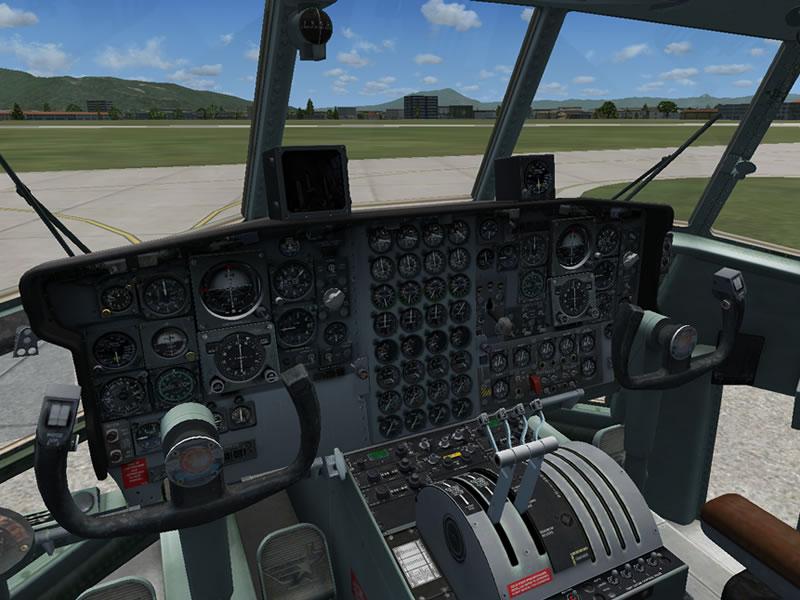 [FSX] C-130 FAB2451 - Lançamento Paraquedista, CDS e Rasante. 03