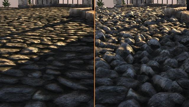 O que são shaders de um jogo? Tessellation-Stones