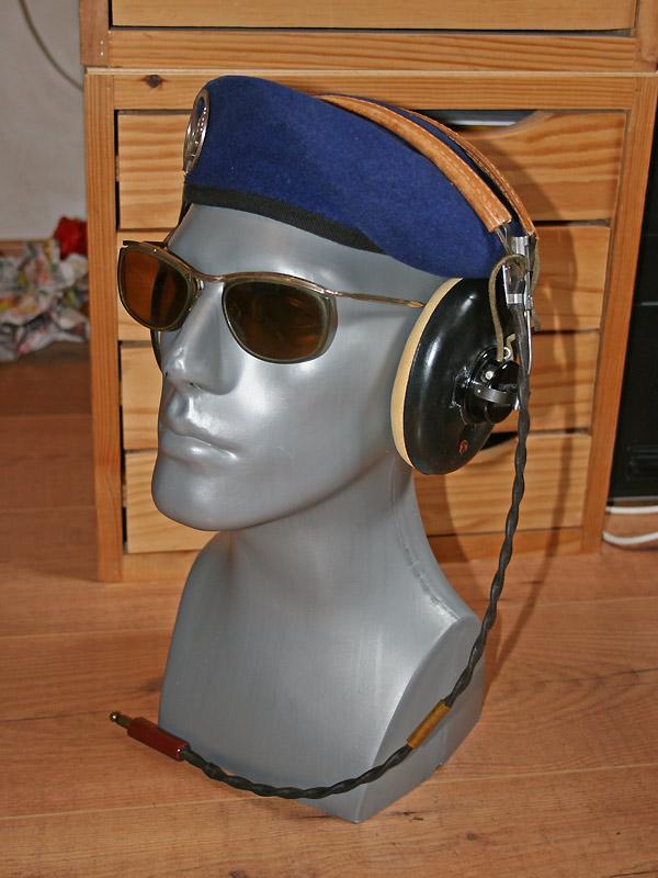 équipements de tête pilote L-19 Bird Dog ALAT Tete-l19-01