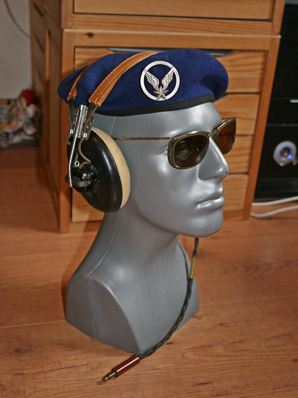 équipements de tête pilote L-19 Bird Dog ALAT Tete-l19-02