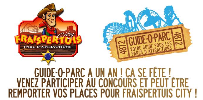 Guide-O-Parc. Jeu concours gagnez 10 places pour Fraispertuis City ! Evenement_2