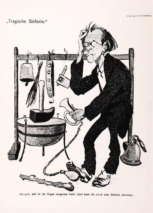 Gustav Mahler (1860-1911) (3) Caric6eme
