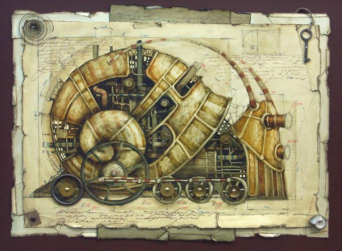 Vladimir Gvozdev - Gvozdariki : steampunk  09-ulitk