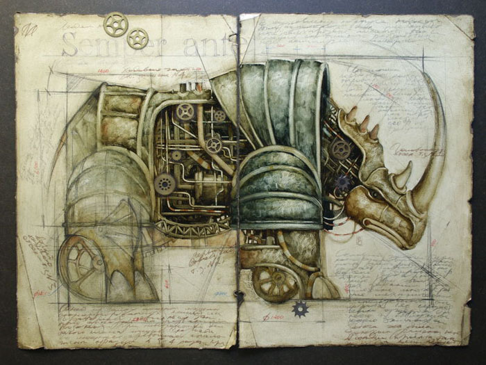 Vladimir Gvozdev - Gvozdariki : steampunk  11-nsrog
