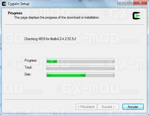 Installer l'environnement Cygwin / Kos pour Dreamcast 12