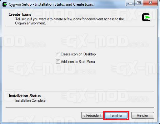 Installer l'environnement Cygwin / Kos pour Dreamcast 13
