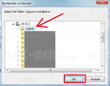 Installer l'environnement Cygwin / Kos pour Dreamcast 16