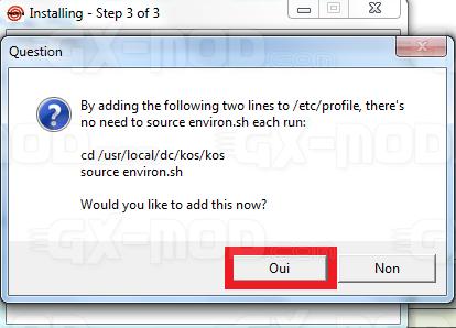 Installer l'environnement Cygwin / Kos pour Dreamcast 21