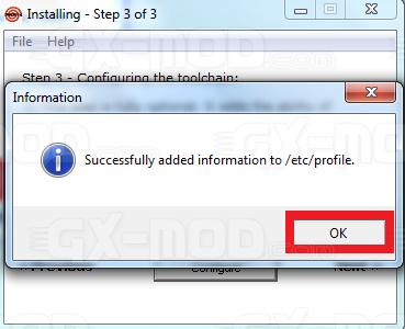 Installer l'environnement Cygwin / Kos pour Dreamcast 22