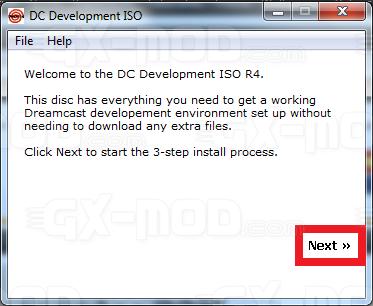 Installer l'environnement Cygwin / Kos pour Dreamcast 4