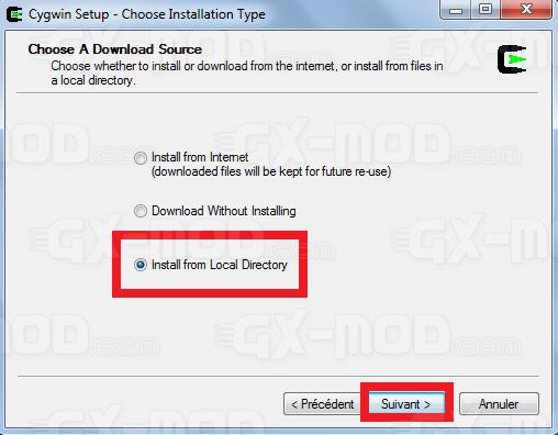 Installer l'environnement Cygwin / Kos pour Dreamcast 7