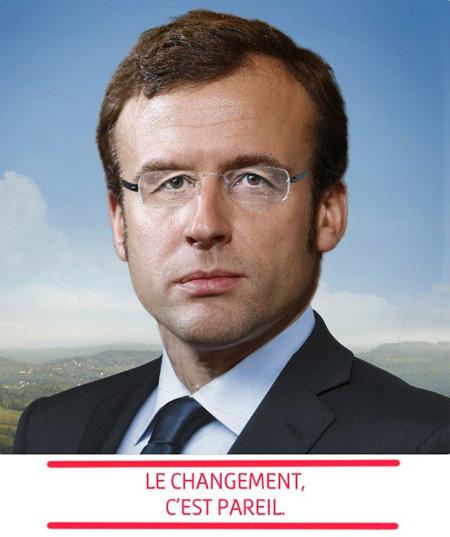 Vox Populi - Page 26 Macron-hollande-le-changement-pareil