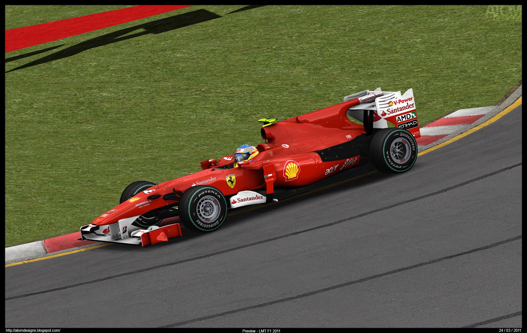 [rFactor] Mod F1 LMT 2010 08ferrariz773