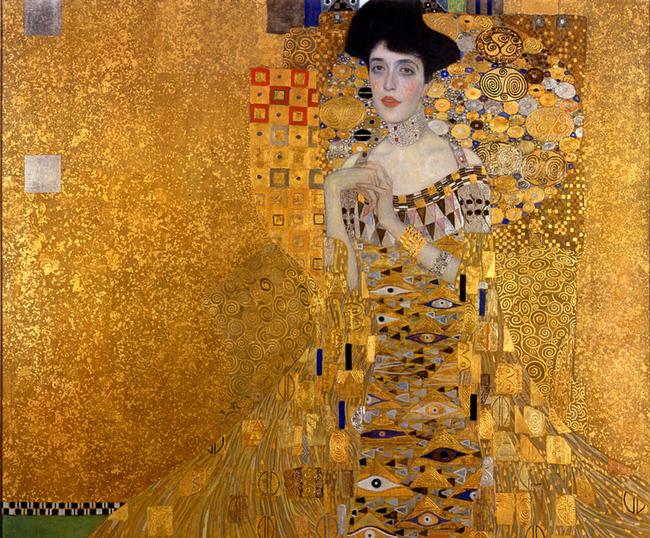 Pittura e scultura - Pagina 4 1.-woman-in-gold-Gustav-Klimt
