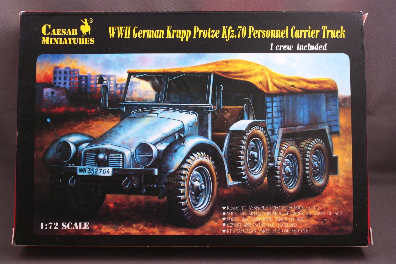 """Ausgepackt: SdKfz.69/70 L 2 H 143 """"Krupp-Protze"""" von Caesar Krupp_protze_1"""