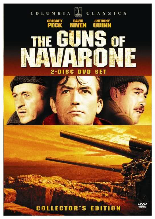 (The Guns of Navarone(1961 الفيلم الروعة النادر مدافع نافارون نسخة DVD أصلية هنا وبس  2re19j7