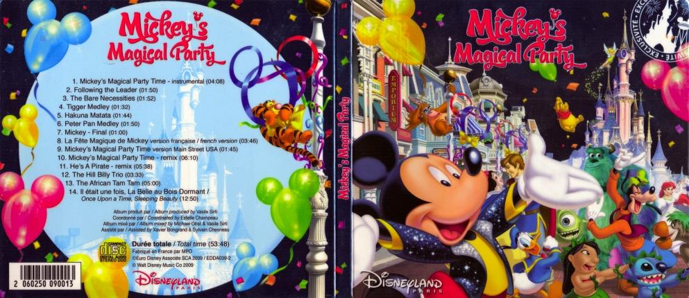 Cd de la magical party Magicalpartycover