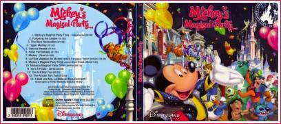 Cd de la magical party Magicalpartycoverth