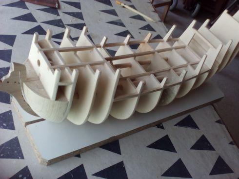 Ricostruisco la Mayflower Assemblaggio2