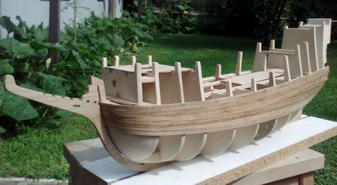 Ricostruisco la Mayflower Fasciame