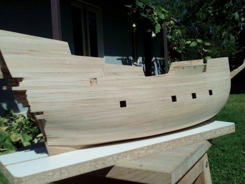 Ricostruisco la Mayflower Fasciame3