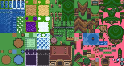 Utilizando Tiles em Seus Jogos Zelda3