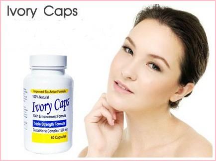 Sản phẩm cần bán: Ivory Caps viên uống Trắng Da Trị Nám Tàn Nhang Vien_uong_trang_da_Ivory_Caps