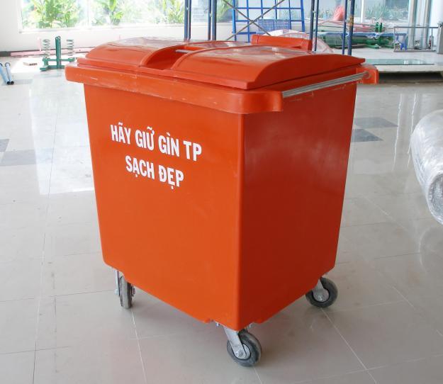 Tư vấn mua thùng rác nhựa mới nhất mẩu mã đa dạng 2016. Thung-rac-cong-nghiep-1
