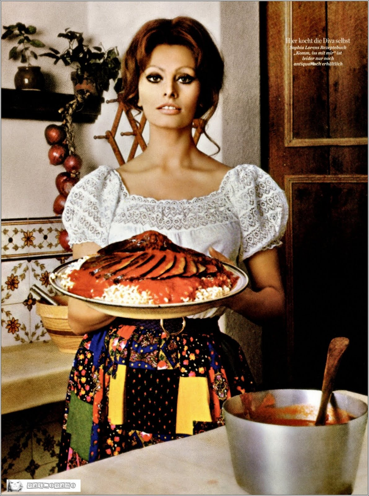 Imagenes cinéfilas - Página 5 Sophia-loren-cooking