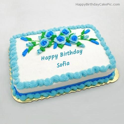 Happy Birthday, Sofia! Birthday-flowers-cake-for-Sofia