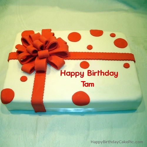 Happy Birthday, Tam! - Page 2 Birthday-cake-wrapped-for-Tam