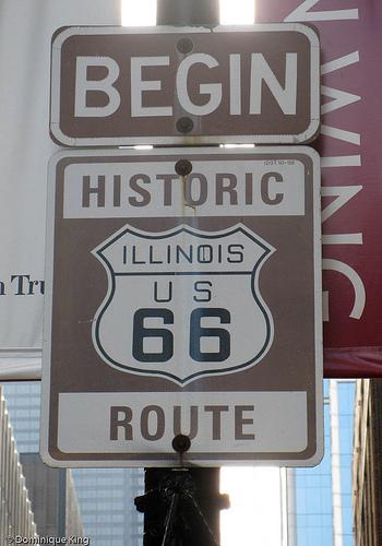 Η Θρυλική Route 66 Route66-begin