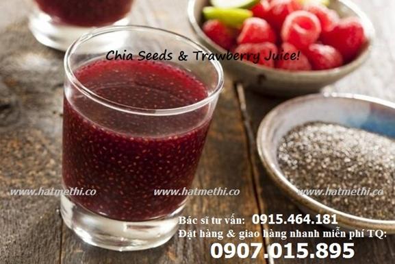 Hạt Chia Biland siêu thực phẩm giàu Omega 3 Chia%20seed_strawberry