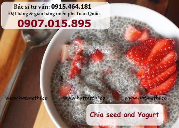 HẠT CHIA giúp mịn da, khỏe tóc, dáng thon, tăng cường sức khỏe Chia%20seed_yogurt