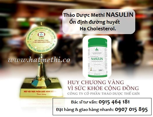 Thảo dược Methi Nasulin ổn định đường huyết, hạ cholesterol Methi%20Nasulin%20-%20huy%20chuong%20vang