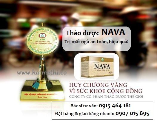 Thảo dược NAVA điều trị hiệu quả chứng mất ngủ Nava%20-%20huy%20chuong%20vang