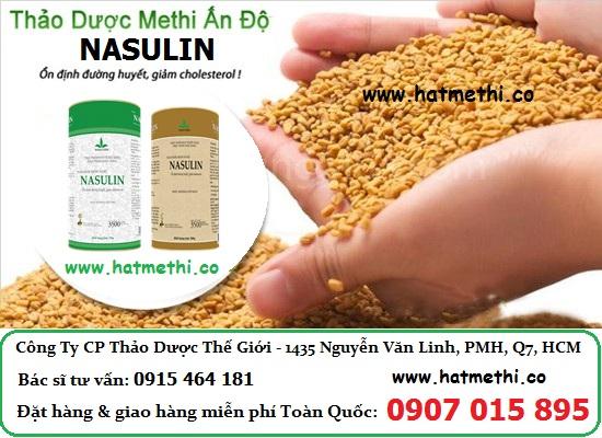 Thảo dược Methi Nasulin chữa hiệu quả bệnh tiểu đường, mỡ máu Hat%20methi%20an%20do%20nasulin