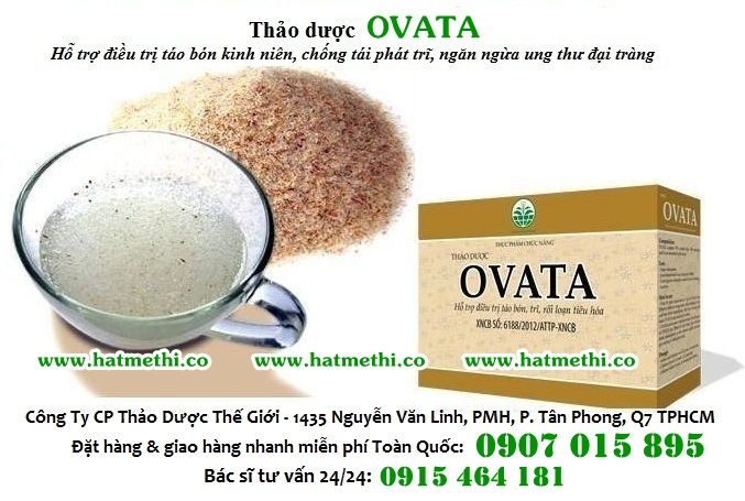 Thảo dược Ovata trị trĩ, táo bón, chống tái phát trĩ Thao-duoc-ovata%201