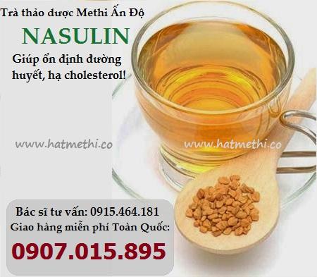 Thảo dược Methi Nasulin ổn định đường huyết, hạ cholesterol Tra%20methi%20nasulin