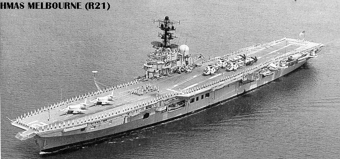 Historique des porte-avions australiens R21-2