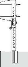 قياس الأبعاد باستخدام القدمة ذات الورنية فيزياء الصف الاول الثانوى المطور 2014  Vernier13