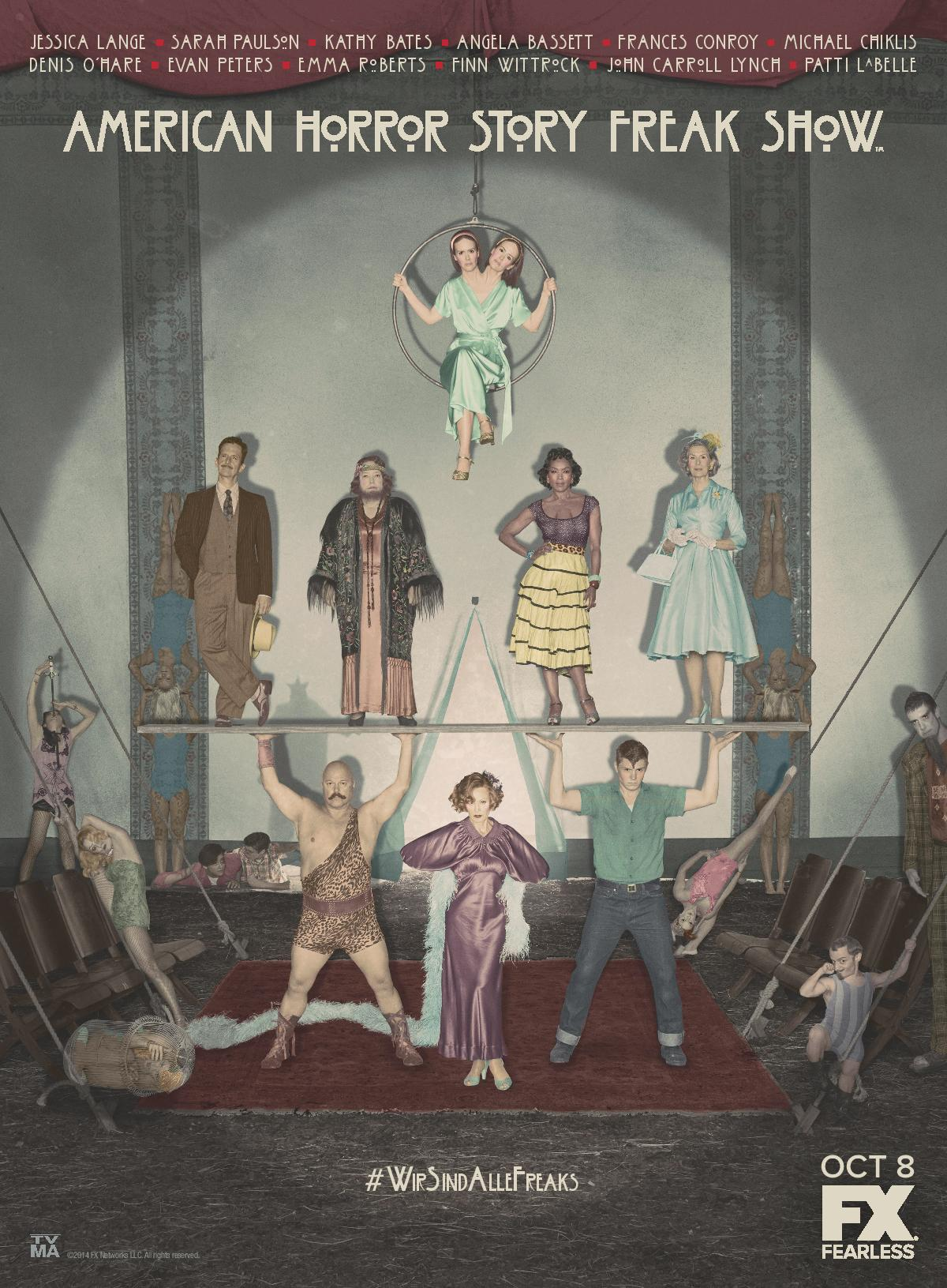 American Horror Story AHS-Freak-Show-Cast-Art
