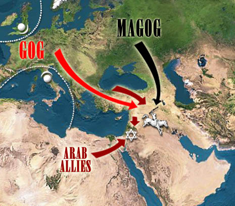 LES ARMÉES DE L' ANTÉ - CHRIST . GOG ET MAGOG  Islam-gog-magog-eurasia