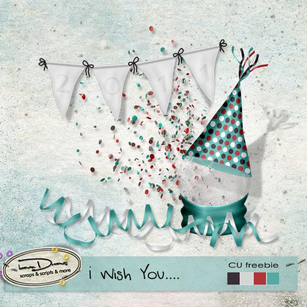 CU Freebie: New Years Party Hat, Scatter...etc By: Heaven Dreams HD_wish_you_cu_freebie