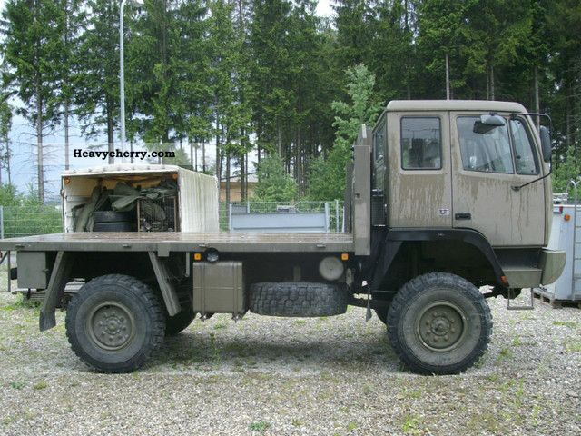 saurer truck bus Steyr__12m18_ex_army_vehicle_communications_1987_4_lgw