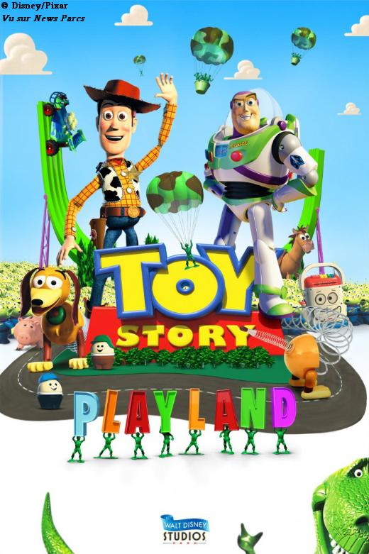 Parlons de l'univers Disney : Films, Livres, Parcs, ... - Page 13 ToyStoryPlayland_conceptart1