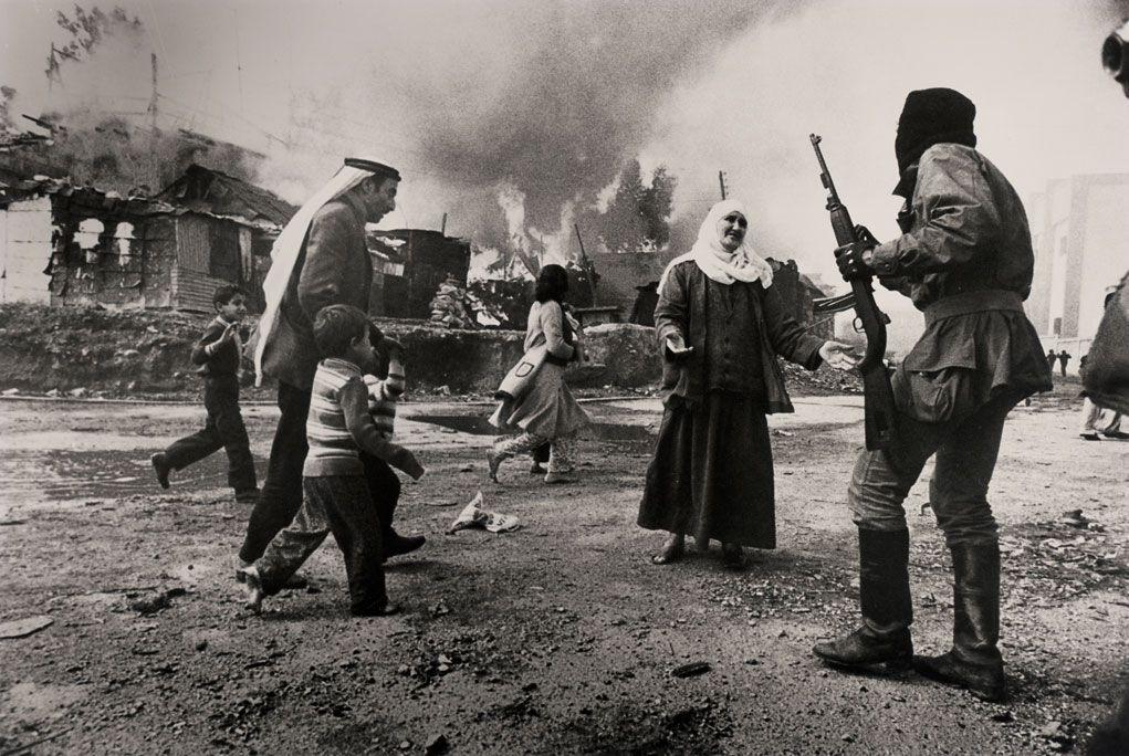scènes de combat (armée libanaise, palestinien, chrétien...) Francoise-demulder
