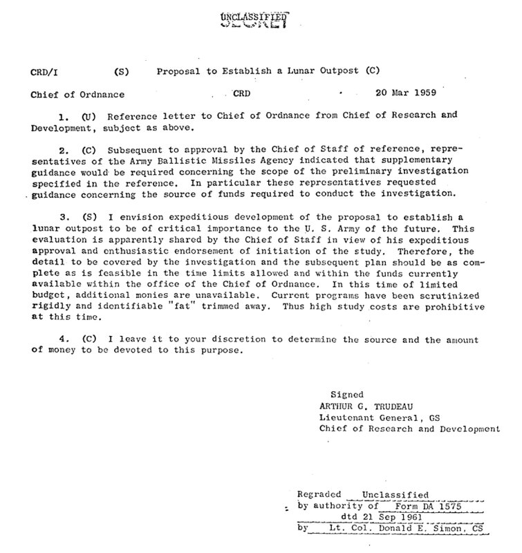 Declassified documents reveal Project Horizon: The Lunar Outpost of the US Army 680723_orig