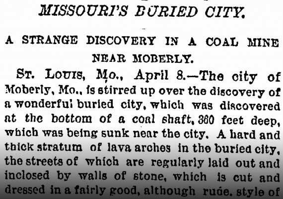 City Found 360 Feet Below Missouri City, Giant Human Skeleton Found New-york-times-missouris-burried-city_orig